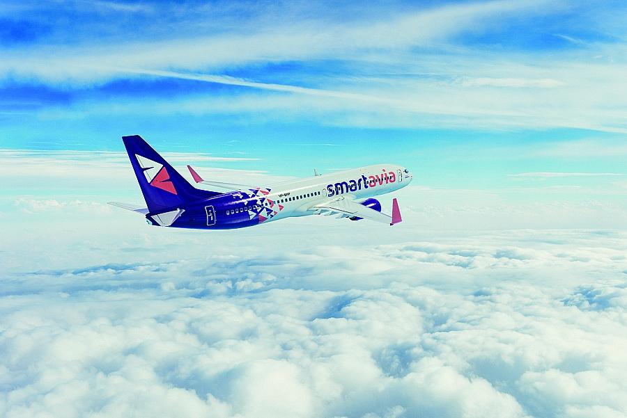 0c56cd458ee6d Авиакомпания Smartavia в рамках летнего расписания открыла регулярное  воздушное сообщение между С.Петербургом и Геленджиком.