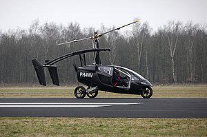 летающая машина 2012