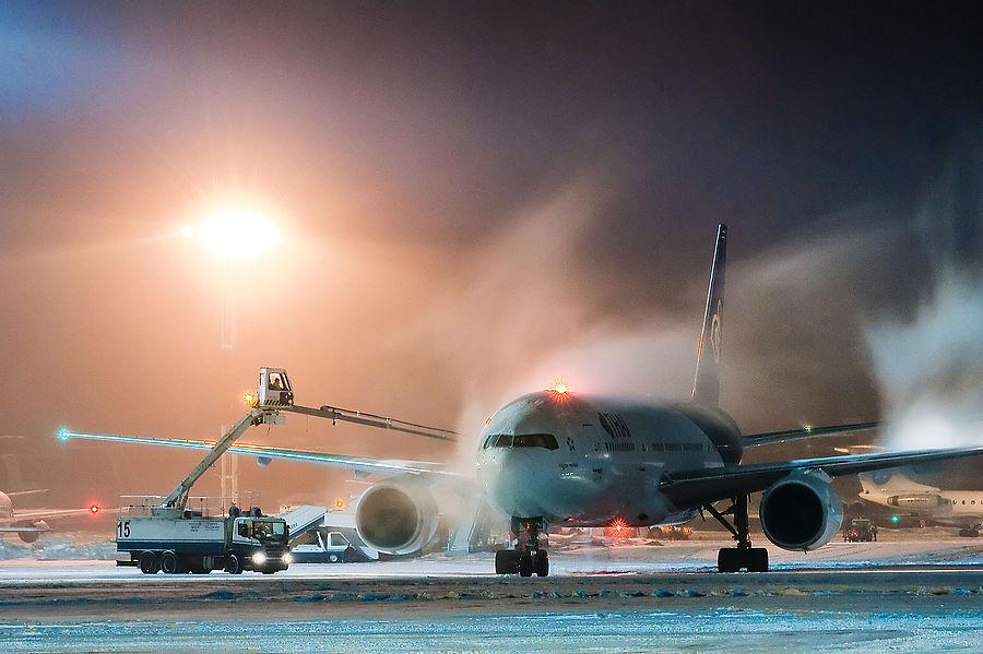 Обработка фотографий самолетов