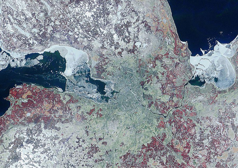 екатеринбург фото с космоса