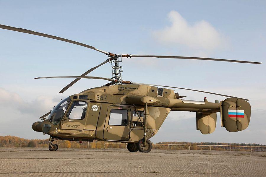 """Минобороны Индии выпустило """"запрос на приобретение"""" 200 вертолетов Ка-226"""