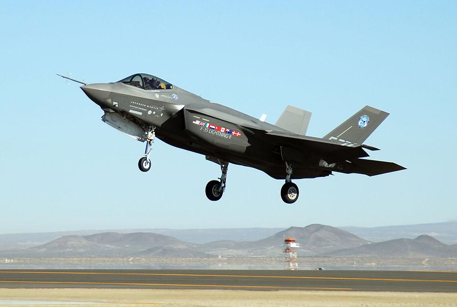 В США допустили исключение Турции из производства истребителя F-35