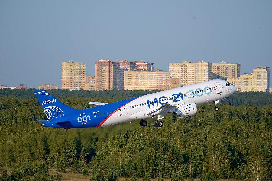 Более 10 миллиардов рублей потратят на серийное производство самолётов МС-21
