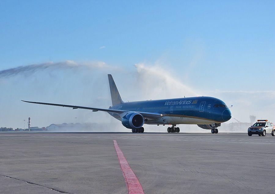 """Аэропорт """"Шереметьево"""" принял первый рейс Vietnam Airlines"""