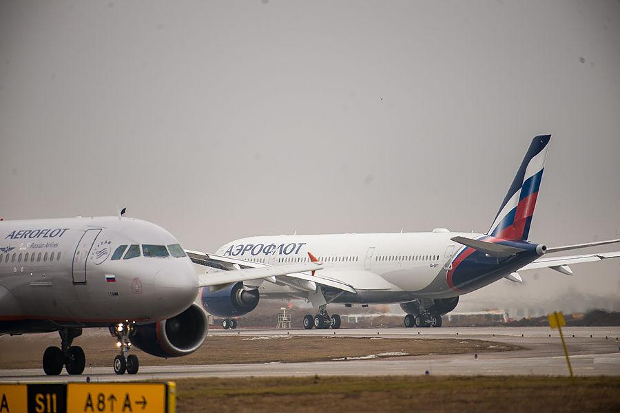Выручка авиакомпании Аэрофлот в первом квартале 2021 года составила 58,9 млрд рублей