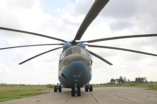 Транспортные Ми-8 и Ми-26 доставили военных экологов ЦВО в Заполярье для очистки земель Минобороны России