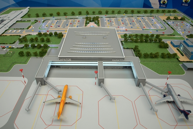 New passenger terminal of Kurumoch airport - Russian