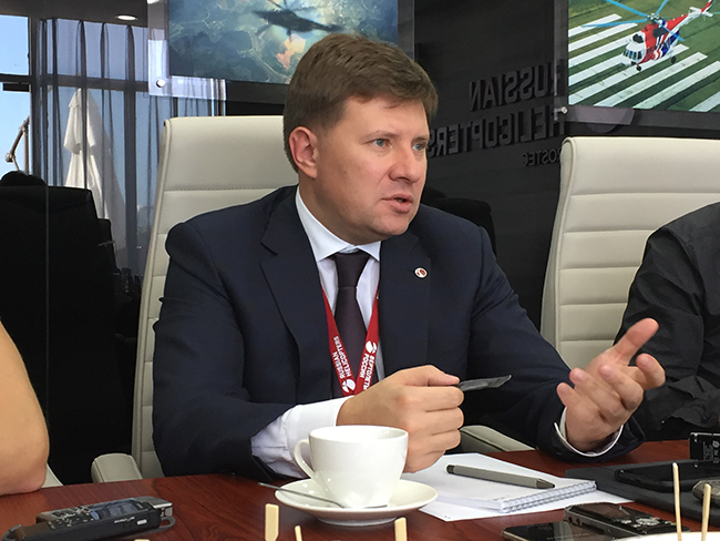Andrey Boginsky: Implement the developments and bring them to the ...