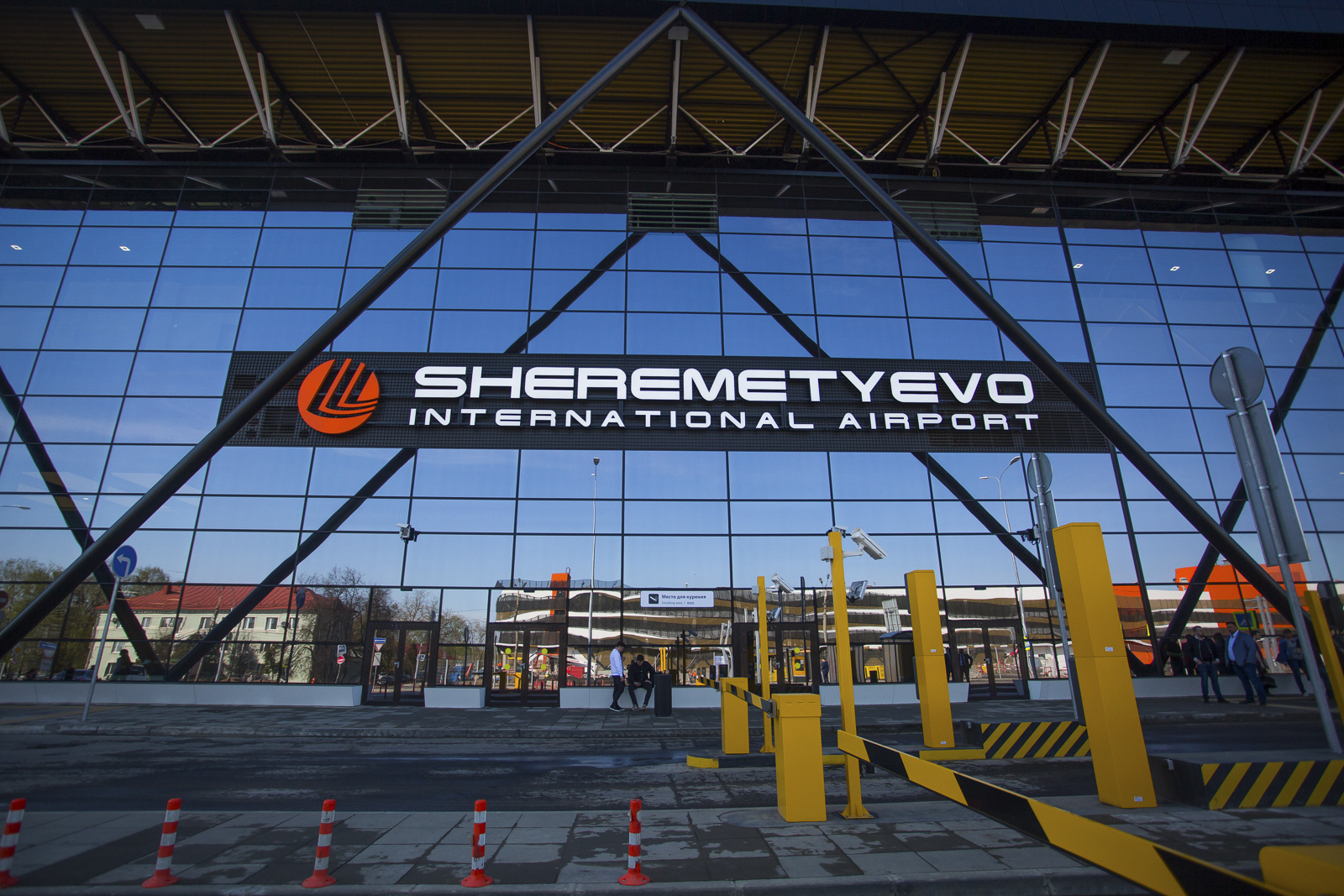 And it is so Sheremetyevo ready for the World Cup 2018 97