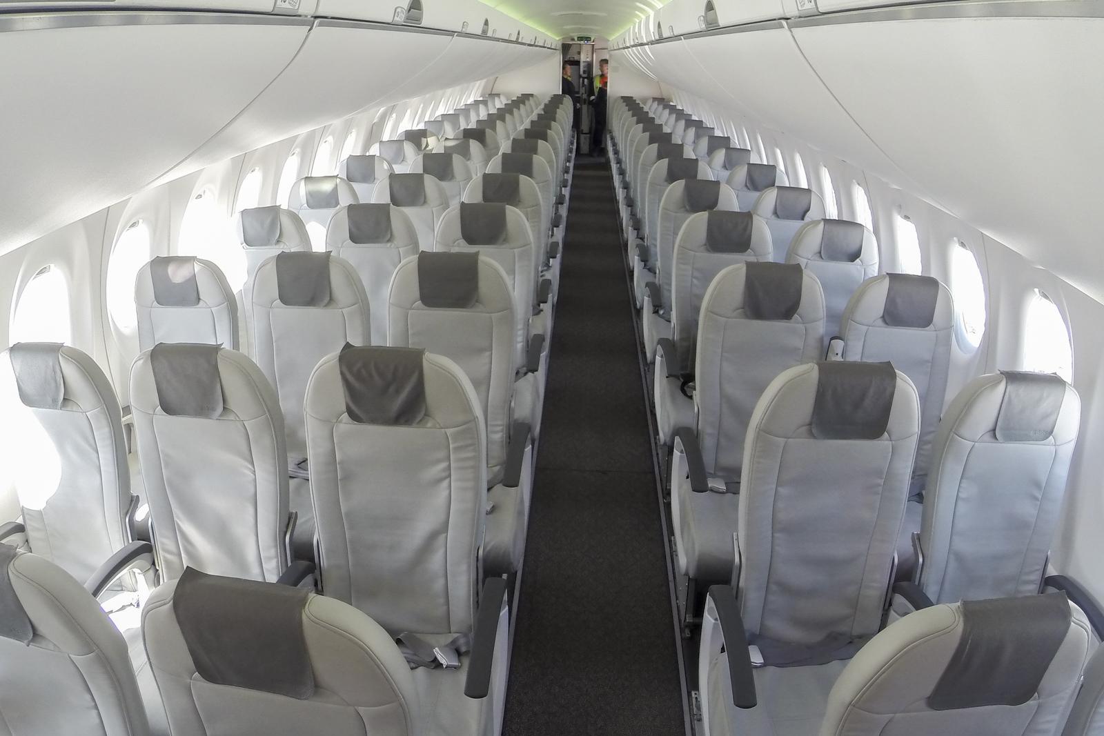 Bombardier cs300 airbaltic схема салона