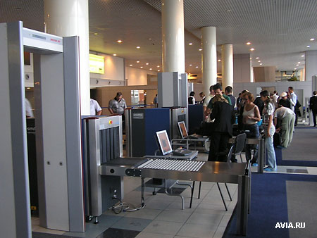 Фоторепортаж // Новейшие системы безопасности в аэропорту ...