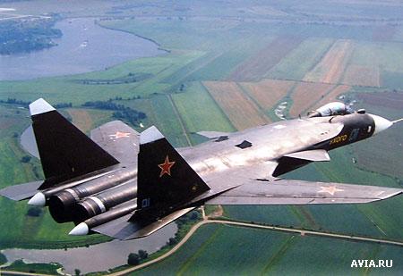На базе самолета Су-27