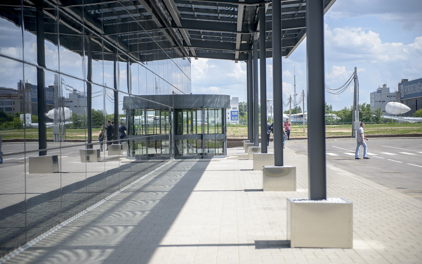 The Zhukovsky airport is open